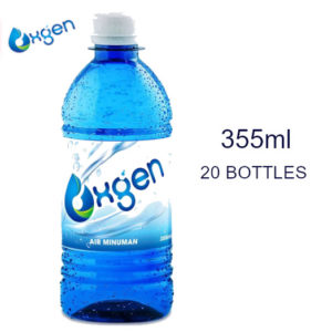 [BUNDLE PACK] OXGEN Oxygenated Drinking Water – 355ml X 20 Bottles